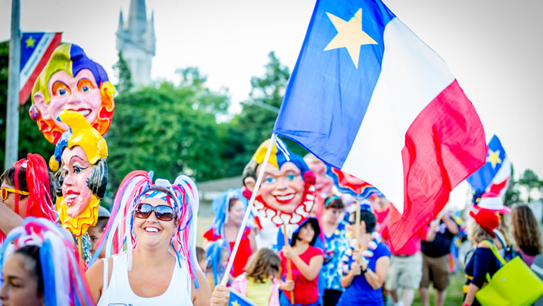 Join us at the oldest Acadian Festival in the world!